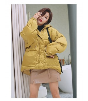 Istyni Brass Cotton Down Coat