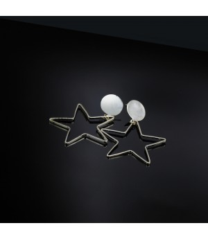 Star Frame Earrings