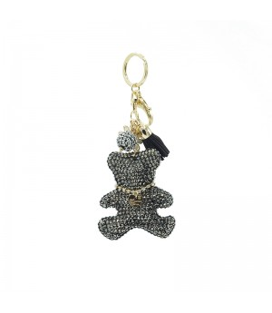 Black Diamond Bear Bag Charm