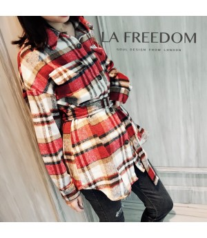 LA Freedom Checked Shirt