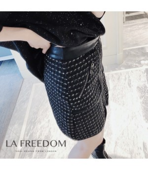 LA Freedom knit Bike Skirt