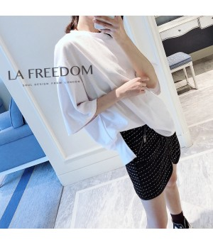 LA Freedom Starry Sky Shirt-White