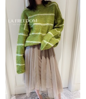 LA Freedom Grass-Green Sweater