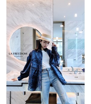 LA Freedom Retro Velvet Jacket