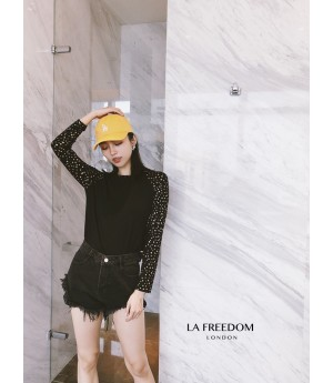 LA Freedom Gilding Stars Shirt-Black