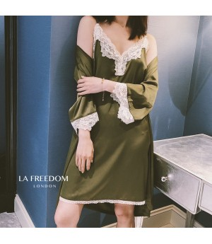 LA Freedom Lazy pajamas-Green