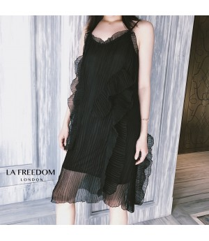 LA Freedom Silk Lotus Side Dress