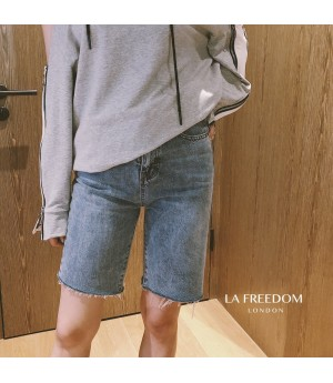 LA Freedom Washing Short Jeans