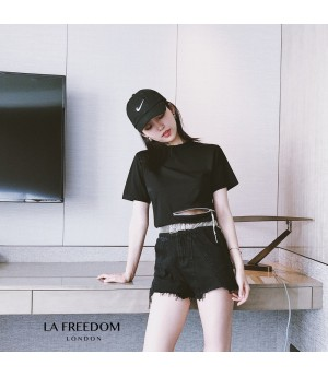 LA Freedom Zipper Waist T-Shirt