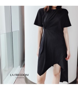 LA Freedom Hypotenuse Dress-Black