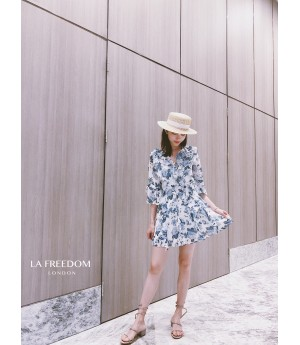 LA Freedom V Neck Dress