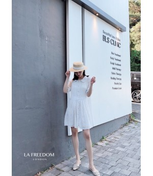 LA Freedom Snow White Chiffon Dress