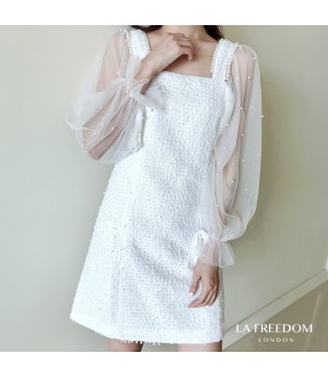 LA Freedom Pearl Silk Dress