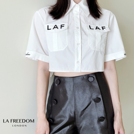 LA Freedom Limited Embroidery Short T-Shirt