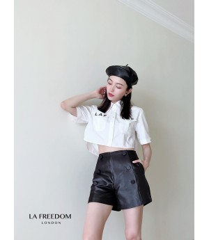 LA Freedom Scrub High Waist Short