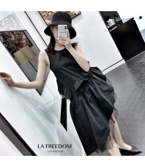 LA Freedom Minority Black Dress