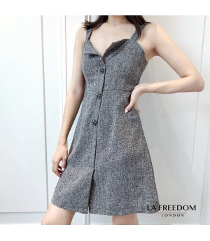 LA Freedom Star Sleeve Dress