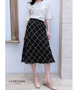 LA Freedom Chanel Style Lattice Skirt