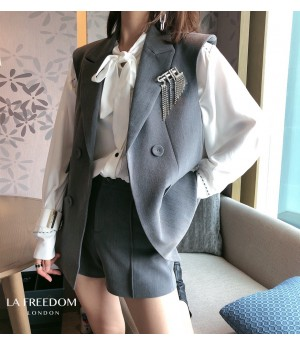 LA Freedom Suit&Vest Set-Grey