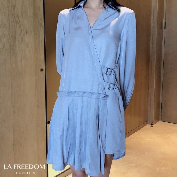 LA Freedom Hundred Wrinkle Dress