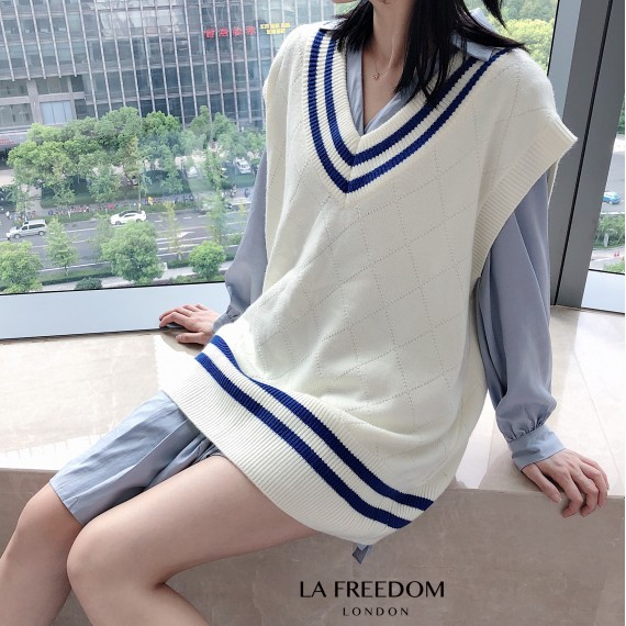 LA Freedom College Style Knit Vest