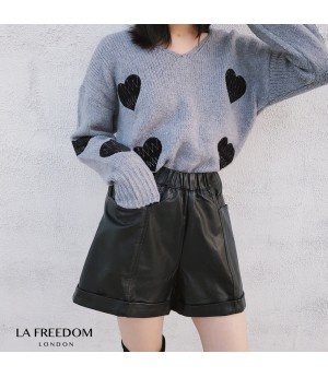 LA Freedom Side Pocket Loose Lather Short