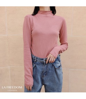 LA Freedom Wool Cashmere Shirt-Pink