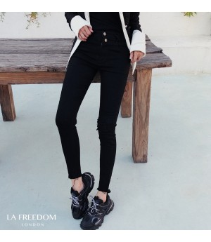 LA Freedom Hole Elastic Force Pants
