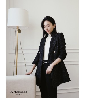 LA Freedom Chanel Style Quilted Coat