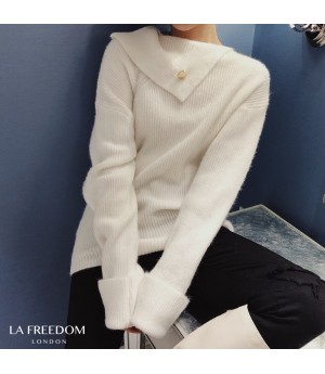 LA Freedom Colar Design Sweater