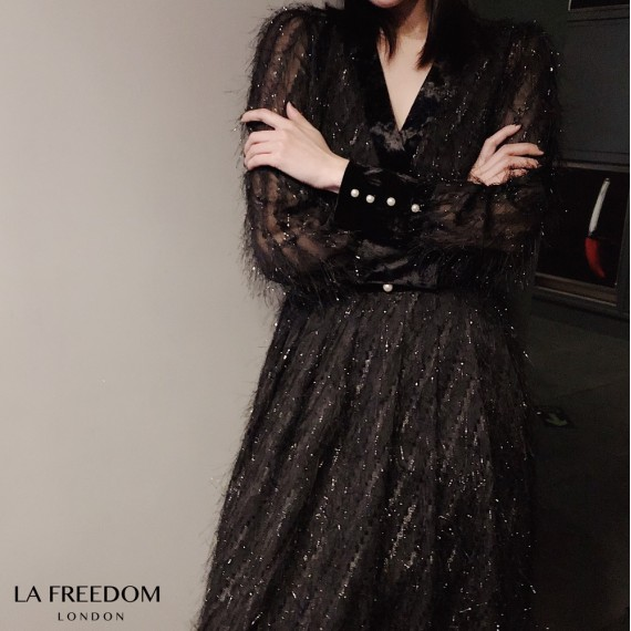 LA Freedom Bling Temperament Dress