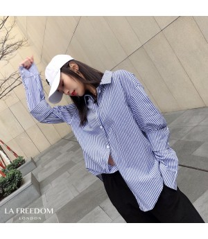LA Freedom Fresh Blue Stripe Shirt