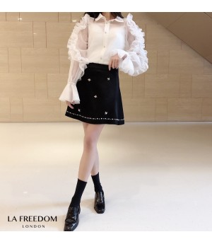 LA Freedom Ribbon Diamond Skirt