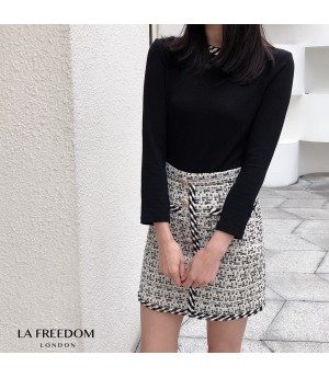 LA Freedom Weave Crew Neck Shirt