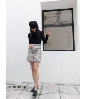 LA Freedom Chanel Style Weave Skirt