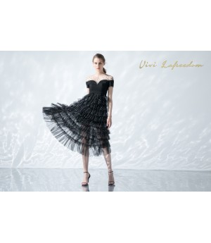 VIVI LA Freedom Diamond Sparkling Party Dress