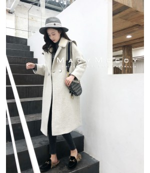 MacyMccoy Light Grey Coat
