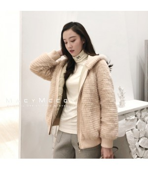 MacyMccoy Convertible Coat-Beige