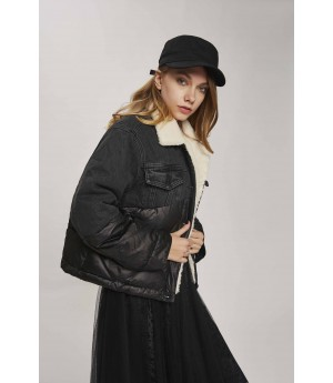 MacyMccoy Black Cowboy Down Coats