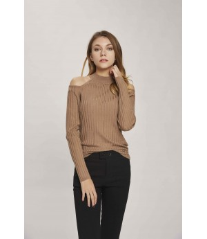 MacyMccoy Strapless Bottoming Shirt- Coffee