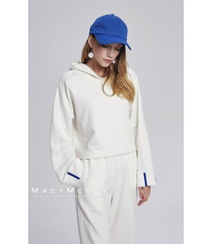 MacyMccoy White Sweater Suit