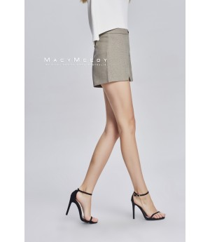 MacyMccoy Basic Casual Shorts-Khaki