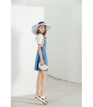 MacyMccoy blue belt cowboy skirt