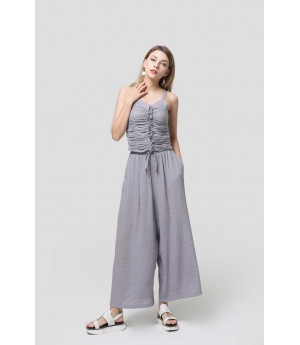 MacyMccoy Folding sling wide leg pants suit