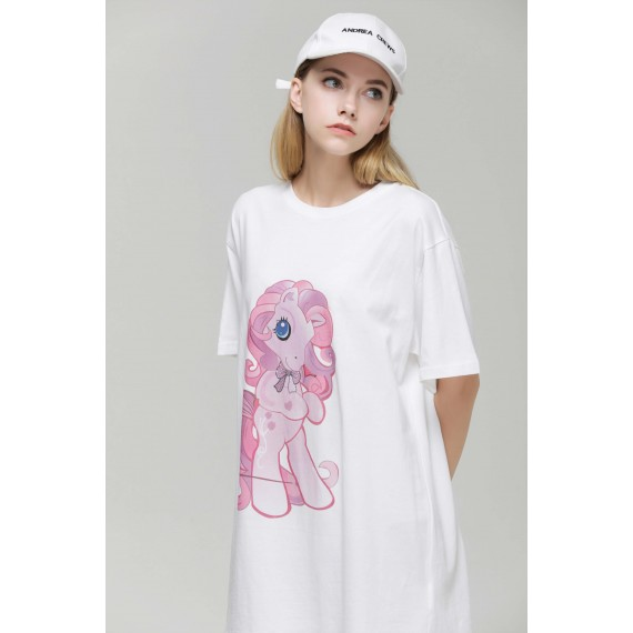 MacyMccoy Little Pony T-shirt-White
