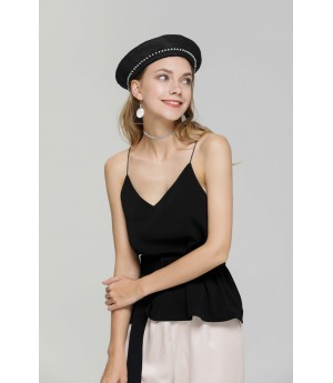MacyMccoy Black belt Camisole