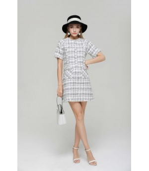 MacyMccoy White Small fragrance and Wind dress
