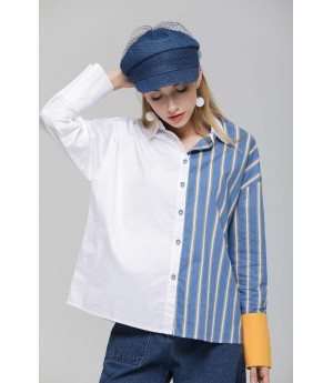 MacyMccoy Blue Stripe Shirt