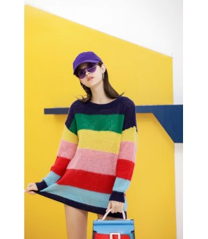 MacyMccoy Rainbow sweater