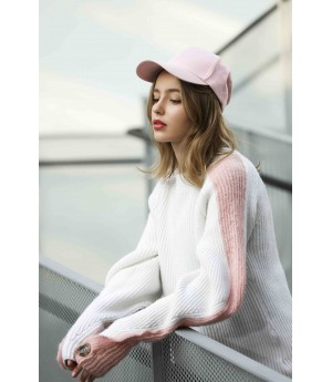 MacyMccoy Crash sleeves and sweaters-Pink